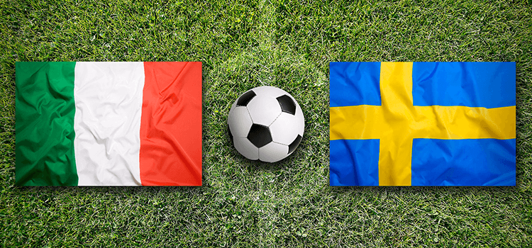 Sverige - Italien